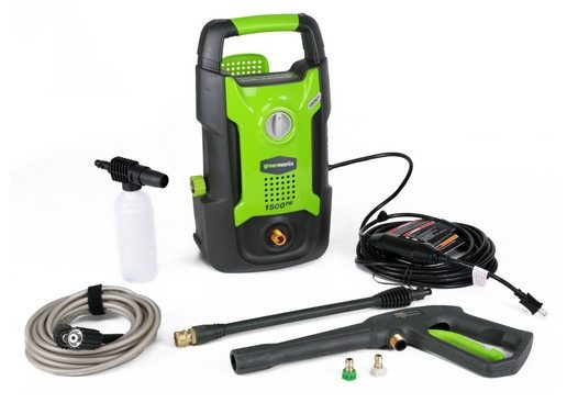 GreenWorks 13 amp Electric Pressure Washer $63.49 **Today Only**