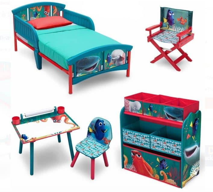 Disney Finding Dory Room-in-a-Box with Bonus Chair Only $99
