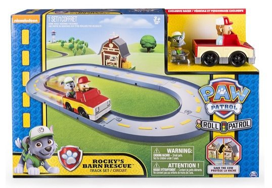 Paw Patrol Rocky's Barn Rescue Track Set Only $6 (Was $20)