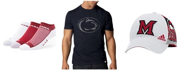 Up to 50% Off NCAA Apparel **Today Only**