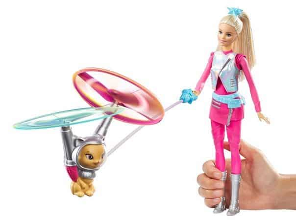 Barbie Star Light Galaxy Barbie Doll & Flying Cat <br>Only $8.71 (Was $25)