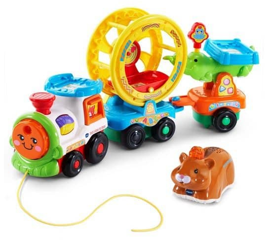 VTech Go! Go! Smart Animals Roll and Spin Pet Train Only $10.25 (Was $35)