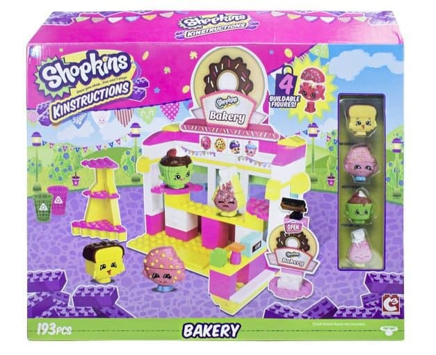 Shopkins Kinstructions Bakery Scene Pack Only $8 (Was $20)