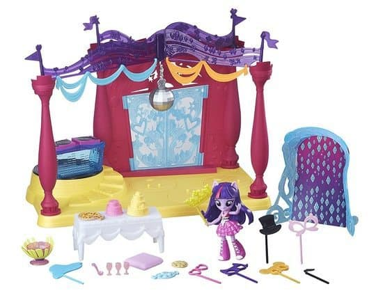 My Little Pony Equestria Girls Minis Canterlot High Dance Playset with Twilight Sparkle Doll Only $6