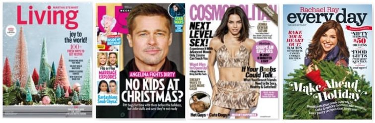 Sale on Magazines for Her ~ as low as 19¢ per issue