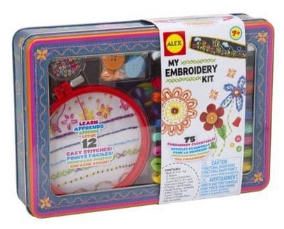 ALEX Toys Craft My Embroidery Kit Only $9.36 (Was $30)