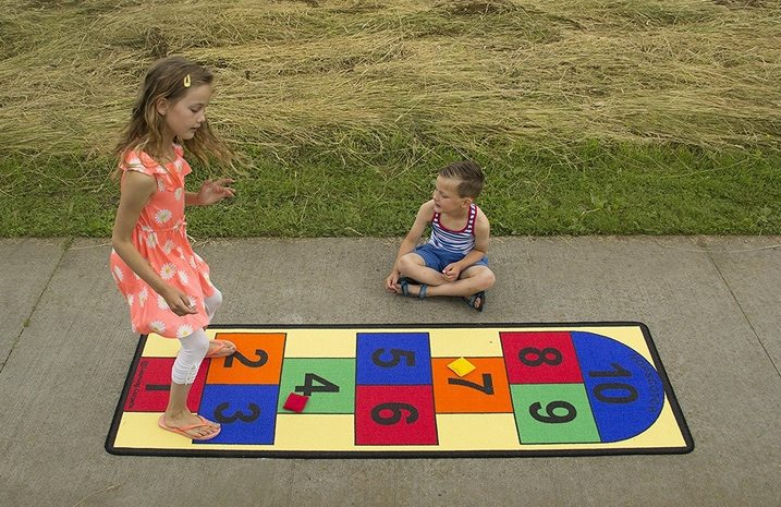 Learning Carpets Hopscotch II Play Carpet $16 <br>(Was $40)