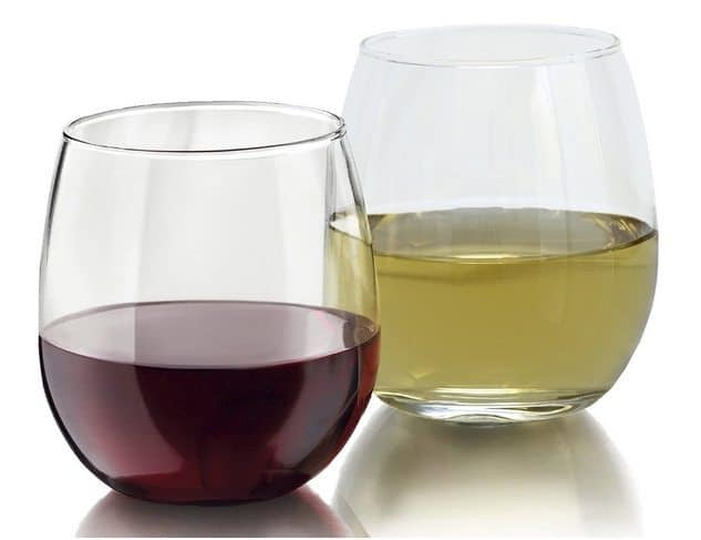 4-Pack Stemless Shatter-Resistant Wine Glass Set Only $11.95 (Was $30)