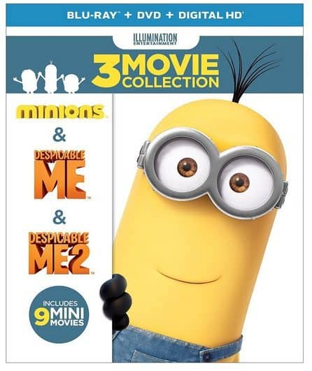 Despicable Me 3-Movie Collection Blu-ray Combo Only $17.99 **Today Only**