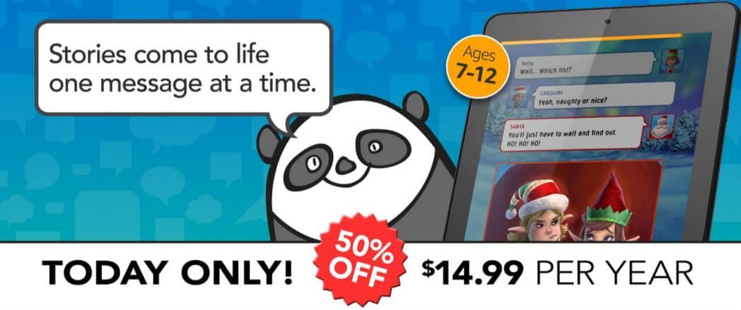 50% Off Rapids 1-Year Subscription: A New Reading App for Kids **Today Only**