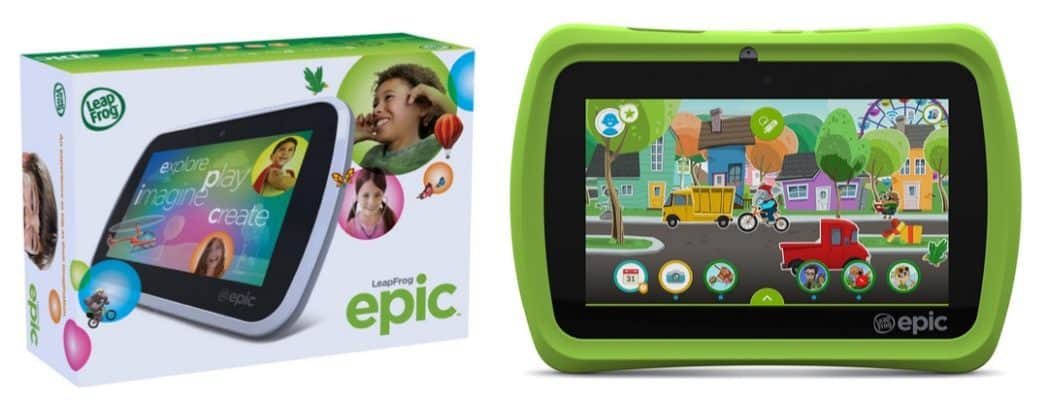 """LeapFrog Epic 7"""" Android-based Kids Tablet 16GB $70.37 (Was $140)"""