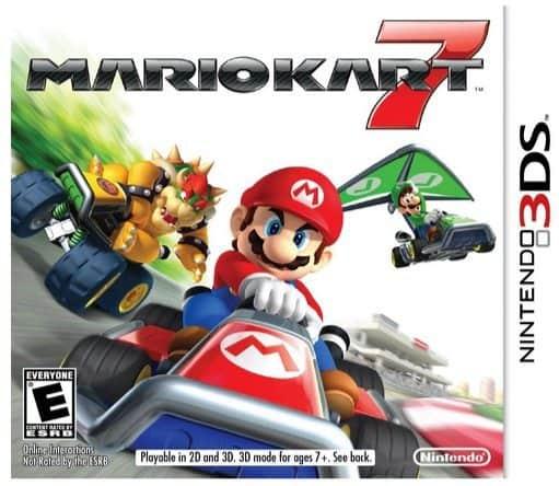Mario Kart 7 Nintendo 3DS $18.99