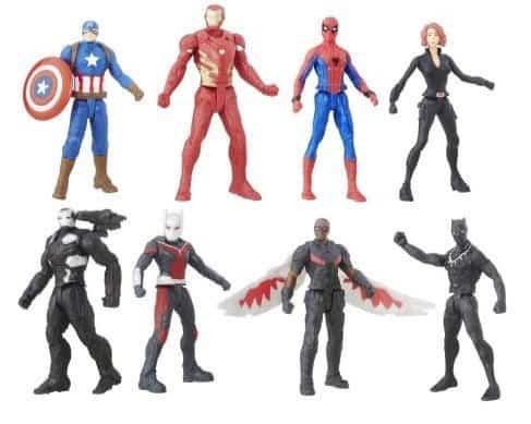 "Captain America Civil War 2.5"" Figure Multipack $9.97 **Only $1.25 Each**"