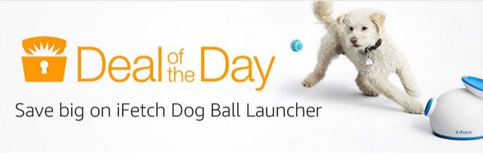 Up to $50 Off iFetch Interactive Ball Launchers and Balls **Today Only**