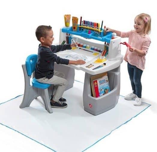 Kohls: Step2 Deluxe Art Desk with Splat Mat $52.49 Shipped (Was $100)