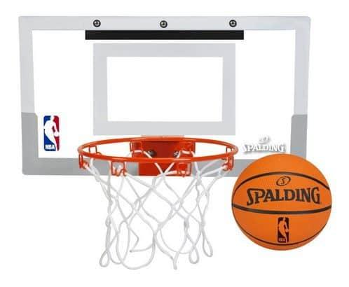 Up to 60% Off Spalding Basketballs and Hoops ~ Over-The-Door Mini Basketball Hoop $16.98