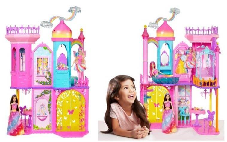 Barbie Rainbow Cove Princess Castle Playset $49 (Was $94)