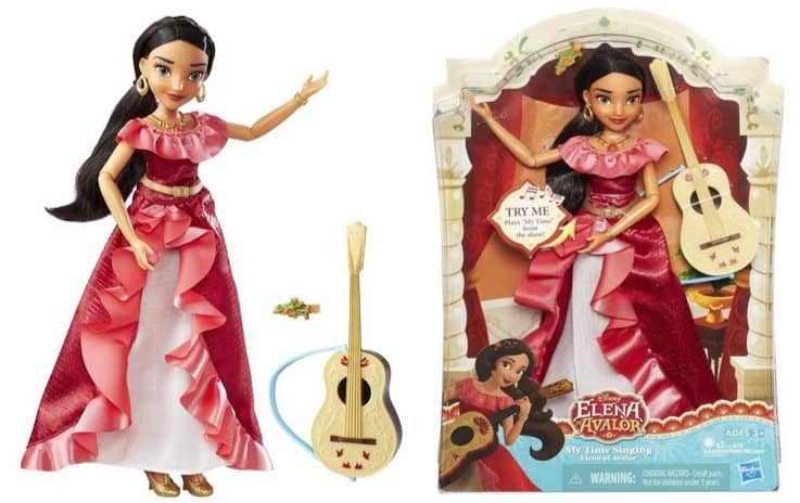 Disney Princess My Time Singing Elena of Avalor Doll Only $9.89 (Was $30)