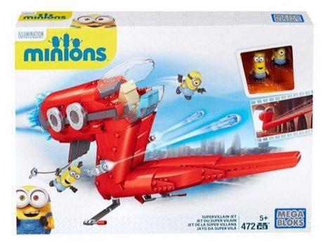 Mega Bloks Minions Supervillain Jet Only $9.99 ($45)