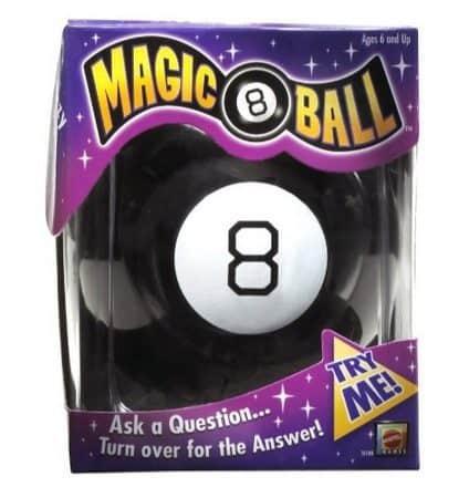 Mattel Magic 8 Ball Only $4.99