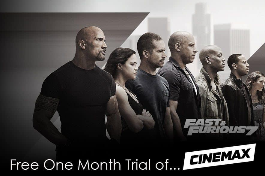 Free 30 Day Trial of Cinemax for Amazon Prime Members