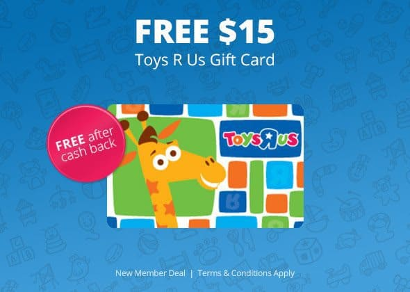 HURRY!!! Free $15 Toys R Us Gift Card