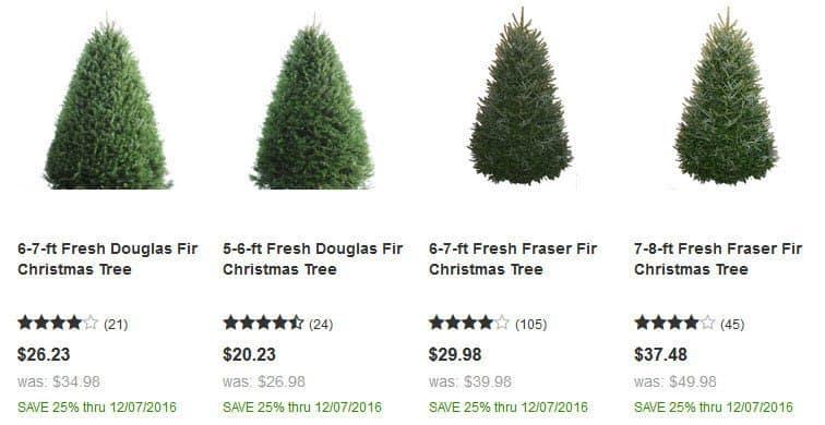 Christmas Tree On Sale Lowes
