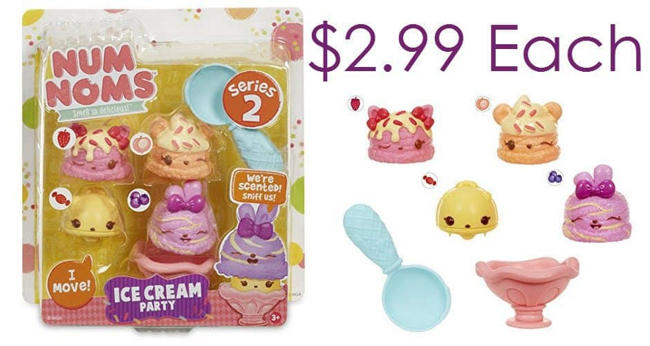 **HOT** 4-Pack Num Noms Series 2 Figures $2.99 </br>(Was $10) Awesome Stocking Stuffers!!