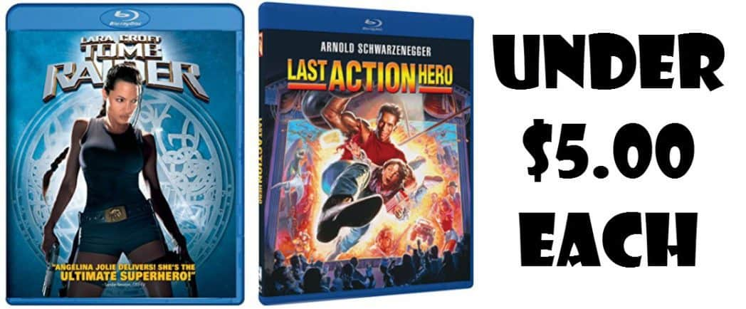 Blu-ray Movies Under $5.00 Each!