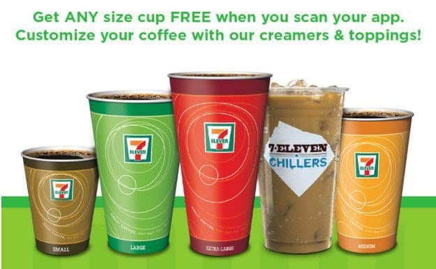 Free Coffee at 7-Eleven Every Wednesday in Februrary