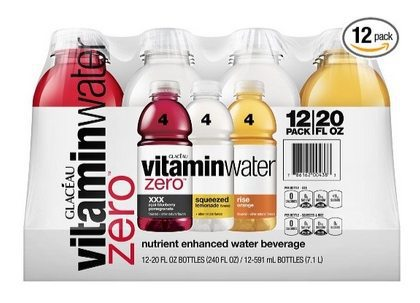 Vitaminwater Zero Variety Pack 12-Count $7.51 <br>**Only 63¢ Each**