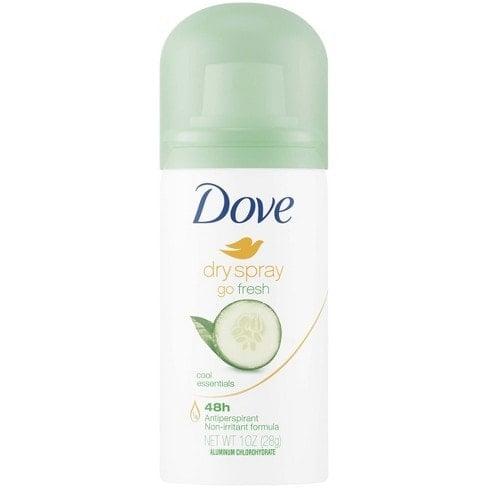 FREE Full Size Sample of Degree or Dove Dry Spray Antiperspirant