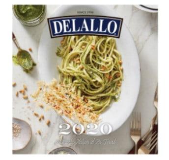 Snag a FREE 2020 DeLallo Calendar