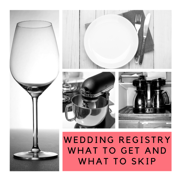 Getting Married? Wedding Registry Items to Get and What to Skip