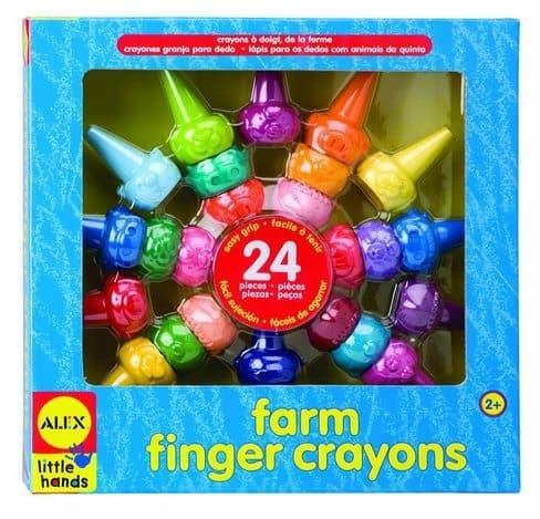 ALEX Toys Little Hands Farm Finger Crayons $6.20 (Was $18.50)
