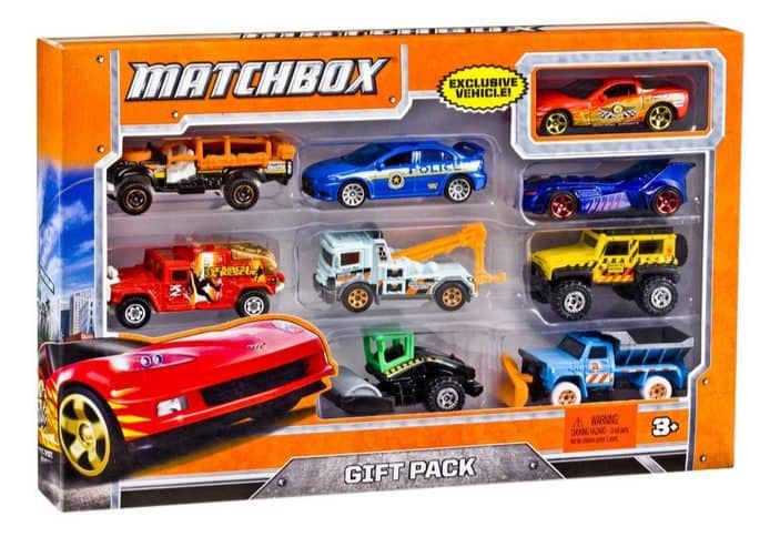 Matchbox 9-Car Gift Pack Only $7.99