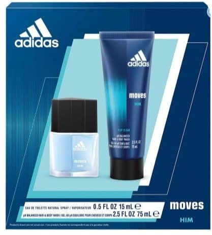 Adidas Moves for Him Bath Gift Set Only $4.49