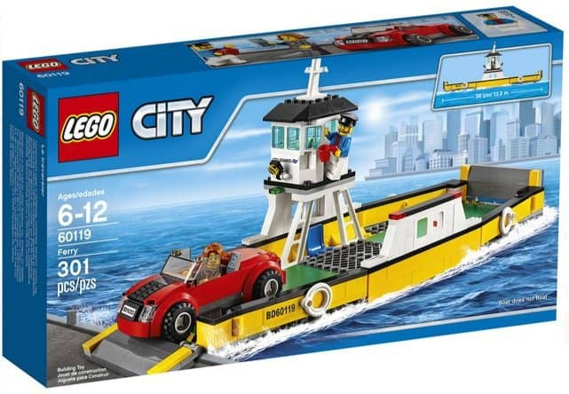 LEGO City Great Vehicles Ferry $17.99