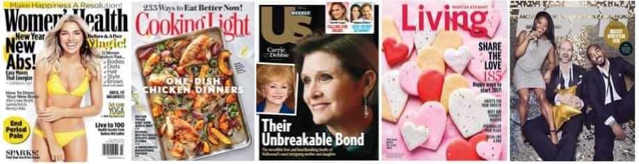 Annual Magazine Super Sale ~ as low as 11¢ per issue