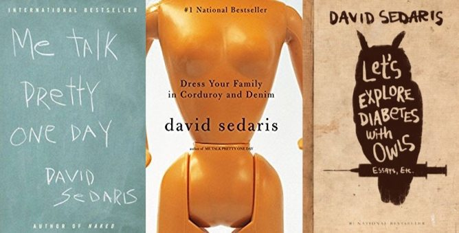 David Sedaris Kindle Books Only $2.99 Each **Today Only**