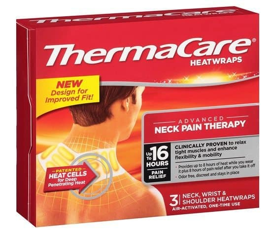 3 ThermaCare Neck, Wrist, & Shoulder Pain Therapy Heat Wraps 3 Ct Only $8.54 Shipped **$2.85 per box**