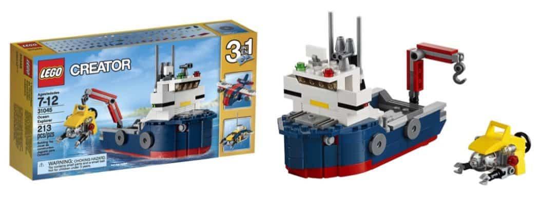 LEGO Creator Ocean Explorer Only $10.97