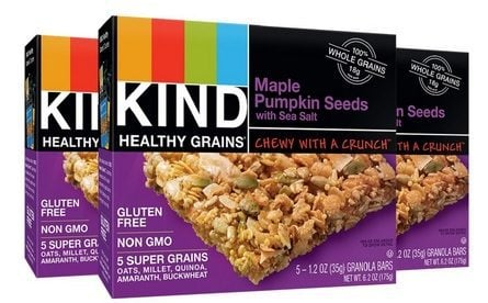 KIND Healthy Grains Granola Bars Maple Pumpkin Seeds $6.88 Shipped **Only $2.29 per box**