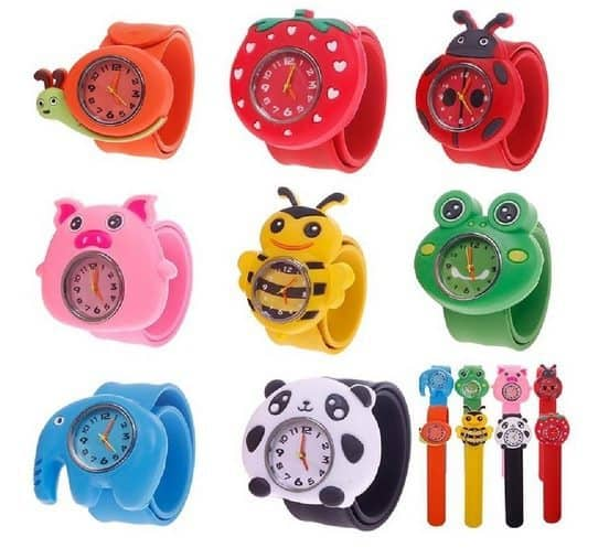 Adorable Bendable Animal Watches Only $2.82 Shipped