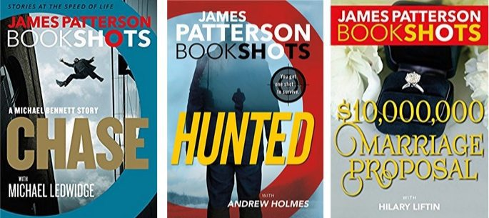 James Patterson's BookShots on Kindle Only 99¢ Each **Today Only**