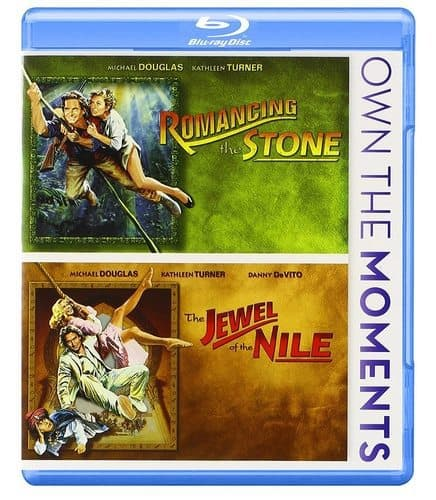 Romancing the Stone & The Jewel of the Nile Double Feature Blu-ray $7.99 **Only $4 Each**