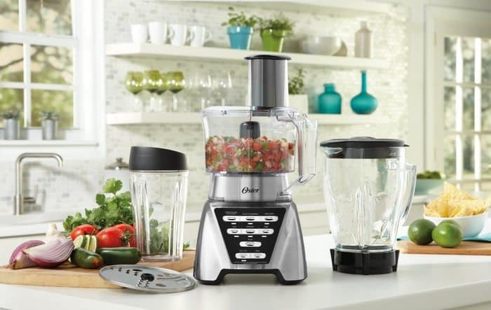 Oster Pro 2-in-1 Blender with Food Processor Attachment and Blending Cup $57.59