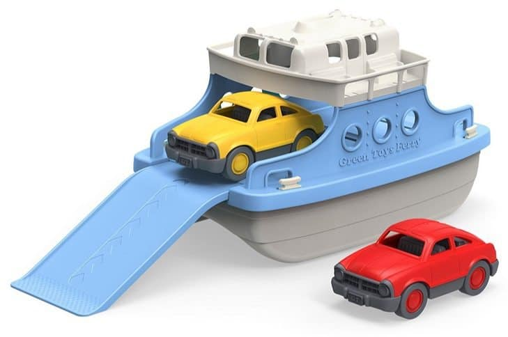 Green Toys Ferry Boat with Mini Cars Bathtub Toy Only $15.99