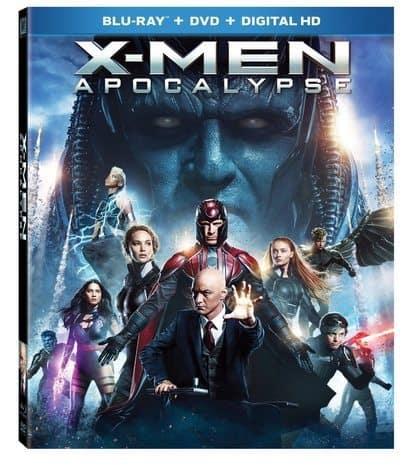 X-men: Apocalypse Blu-ray Combo Pack $9.96