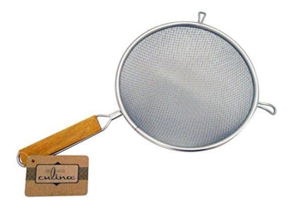"""Culina 8"""" Double Mesh Stainless Steel Strainer $7.99"""